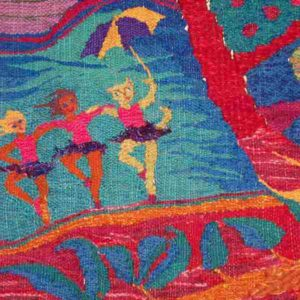 textile art by aiko kobayashi