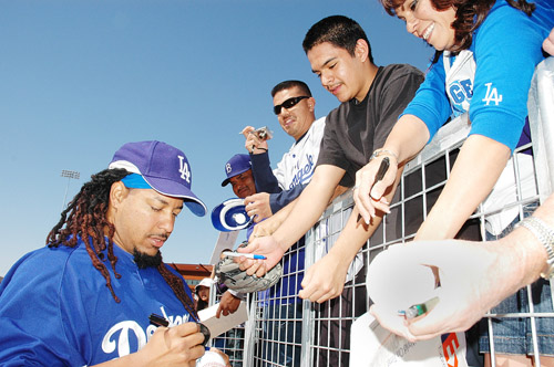 One of the main draws for fans to Spring Training is that even superstars like