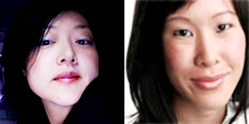 Current TV journalists Lee, left, and Ling have been detained in North Korea since March.
