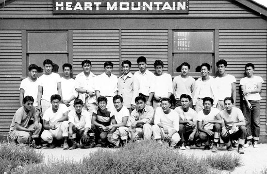 A boys club at the Heart Mountain camp. The Heart Mountain, Wyo. Foundation was among 19 groups to receive grants to preserve confinement sites in a program administered by the National Park Service.