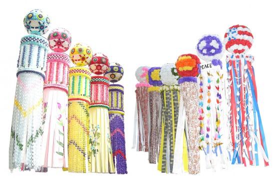 約250個の七夕飾りが披露される「ロサンゼルス七夕まつり」