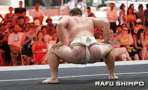 Sumo demonstration will take place on Saturday, Aug. 15 from 12 p.m. at JACCC Plaza.