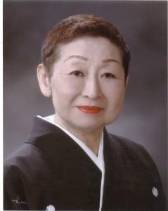 二世週祭の音頭振付師、三條勘菊さん