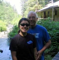 Gary & Kaycie in Klemtu2