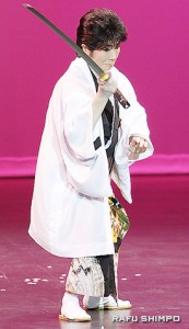 「男、幡随院」を演じる松原千龍さん