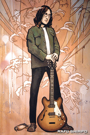 """""""Winter (Lennon)"""" is one of a set of inspired four seasons portraits."""