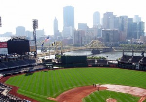 The Pittsburgh Pirates' home stadium, PNC Park opened in 2001 as an intimate, classic-style ballpark. (Courtesy of Joe Soong)
