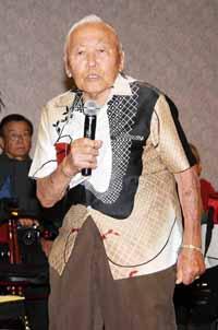 John Hayakawa speaks of getting married at the camp.
