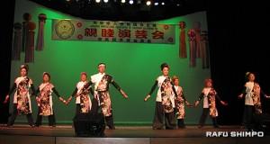 埼玉県人会有志による「加州連合総踊り」