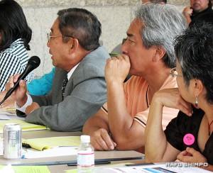 9月22日に行われたLTCCのミーティング(写真=グエン・ムラナカ)