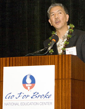 Kevin Tamaki welcomes