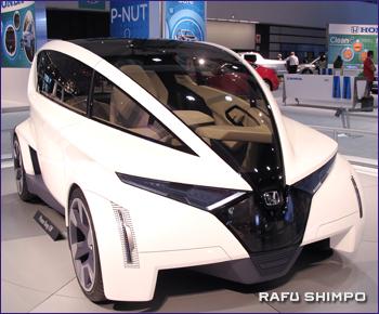 ホンダの小型コンセプトカー「PーNUT」