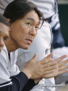 Matsui is waiting out his options. (JUN NAGATA/Rafu Shimpo)