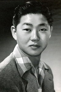 Otomo in a Selma High class photo taken in 1940.