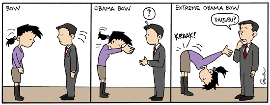 noodles obama bow
