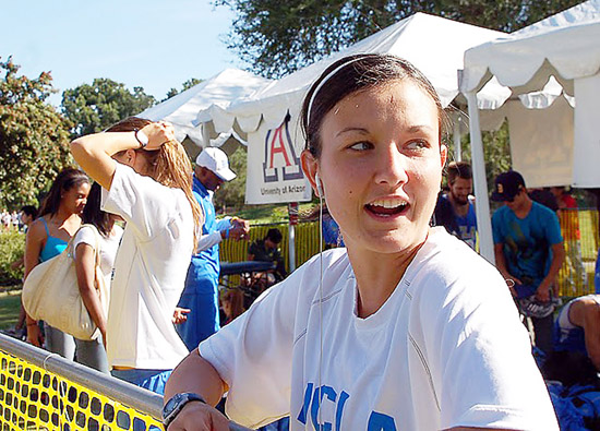 Shannon Murakami has been the running force behind all things good with the UCLA women's cross-country program this year. (Photos by Isamu Murakami)