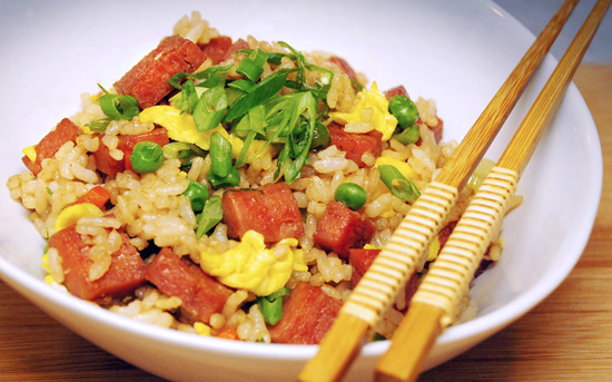 SPAM fried_rice