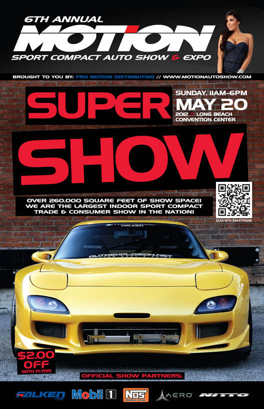 Motion Auto Show Ticket Giveaway