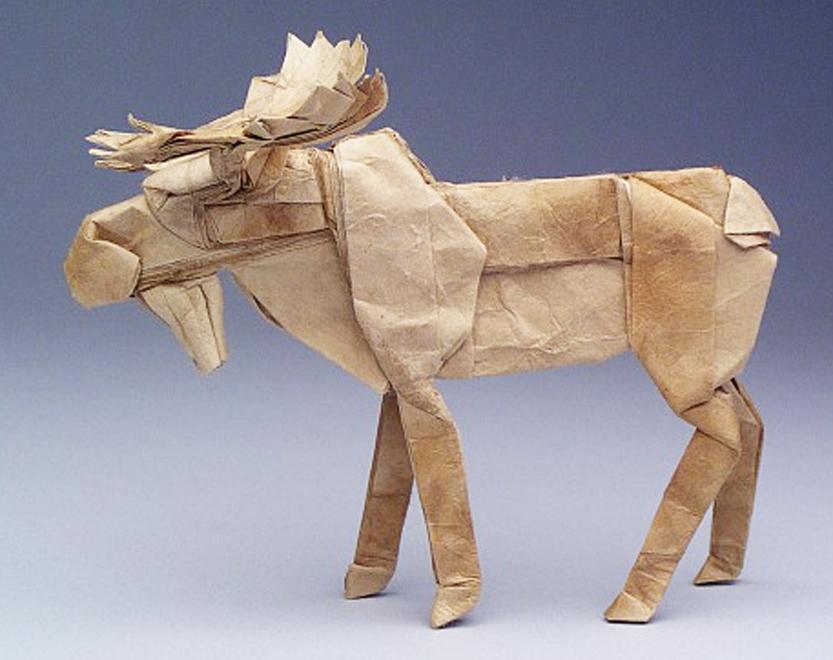 Robert Lang Origami Bull Moose