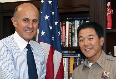 Sheriff Lee Baca and Undersheriff Paul Tanaka