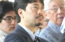 LACCHR Executive Director Robin Toma (Rafu Shimpo photo)