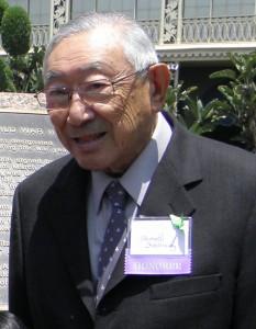 Hiroshi Kashiwagi (Rafu Shimpo photo)