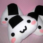 Surprise that onigiri lover with a kawaii rice ball pillow from Nancy Matsudaira of Sammamish, Wash. (Courtesy Nancym4)