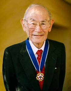 Fred Korematsu (1919-2005) was a recipient of the Presidential Medal of Freedom.