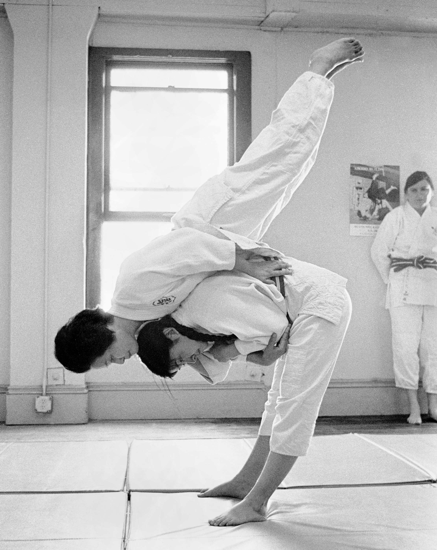 Keiko Fukuda in azione