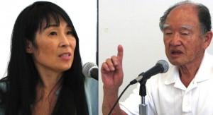 Easter Keiko Noda and Junji Sarashina