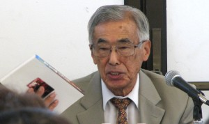 "Rev. Haruyoshi ""Harry"" Fujimoto, author of ""The Way Down to Gaza."""