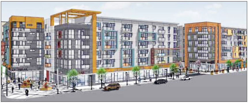 A Rendering Of Ava Little Tokyo Now Under Construction At Los Angeles And Second Streets