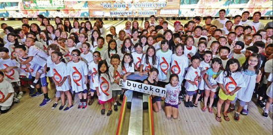 Hundreds of bowlers of all ages took part in the 2013 BoLA-thon.