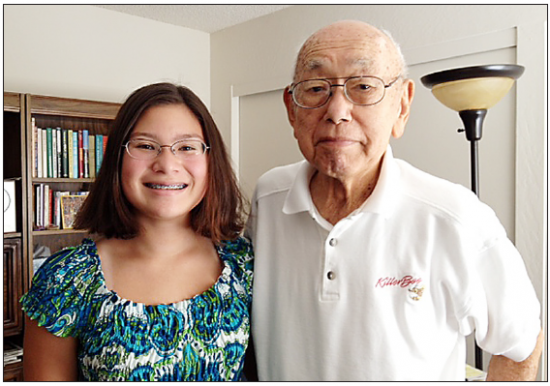 Martha Castro captured the story of Ben Matsui, a Purple Heart recipient, for her winning Go For Broke National Education Center essay.