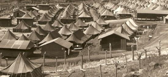 The Honouliuli Internment Camp on Oahu.