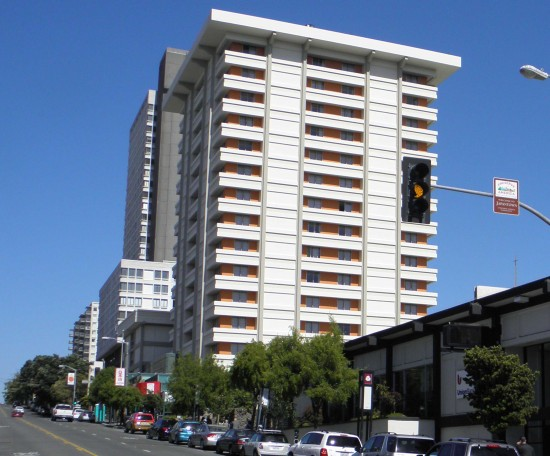 John Henry oversees the Hotel Kabuki (pictured) and Hotel Tomo in Japantown. (Rafu Shimpo photo)