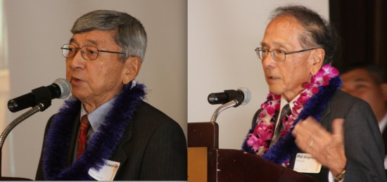 Harry Kawahara and Phil Shigekuni