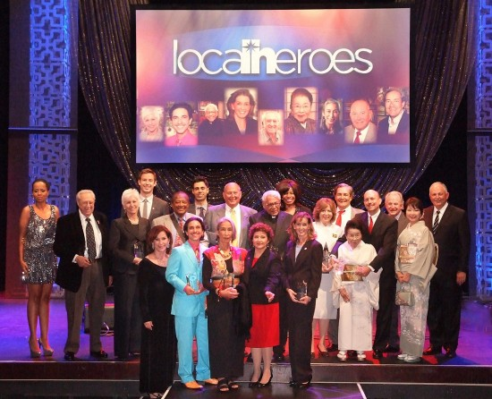 The 2013 Local Heroes awardees and presenters.