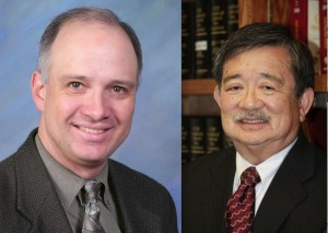 David Loy of ACLU, Ken Inouye of JACL