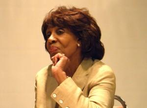 Rep. Maxine Waters (Rafu Shimpo photo)