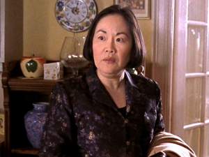 "Emily Kuroda as Mrs. Kim in ""Gilmore Girls."""