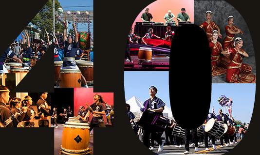 san jose taiko 40th