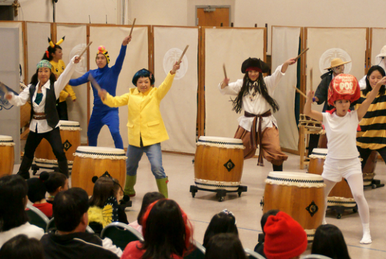 The J-Town Halloween Drummers
