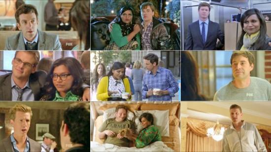 An array of Mindy Lahiri's various white love interests.  Courtesy jezebel.com.