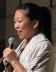 "Deanna Myers wrote and performed ""Cute Asian Girl."""