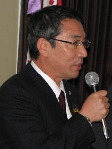 Yokkaichi City Council Chairman Kazuma Doi.