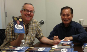 George and Brad Takei