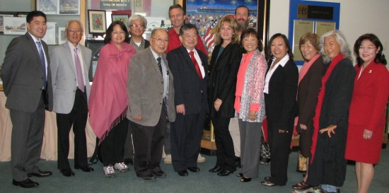 Members and friends of the Historic Wintersburg Preservation Task Force.