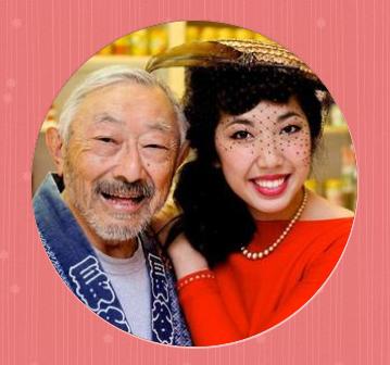 Hiroshi Kashiwagi and Wendy Woo