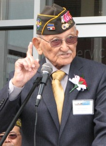 Maj. Gen. Arthur Ishimoto (retired), an MIS veteran, was the main speaker.